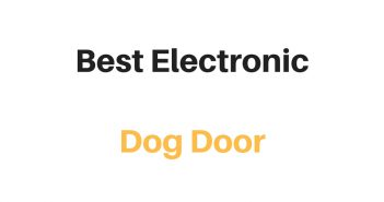 Best Electronic Dog Door: Reviews & Buyer's Guide