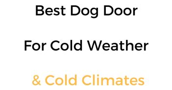 Best Dog Door For Cold Weather & Cold Climates: Reviews & Buyer's Guide