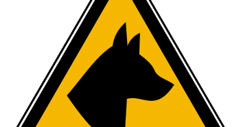 German Shepherd Signs: Warning Signs For Outdoors, Fences & Yards/Premises'