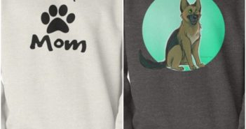 Cool & Funny German Shepherd Sweatshirt & Hooded Sweatshirt Designs (White, Black & Other Colors & Prints)