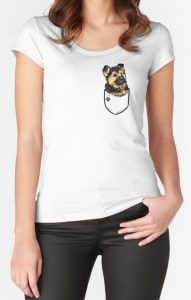 Pocket Puppiez German Shepherd T Shirt