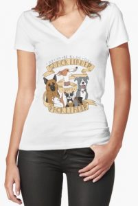 Be A Snack Leader German Shepherd T Shirt