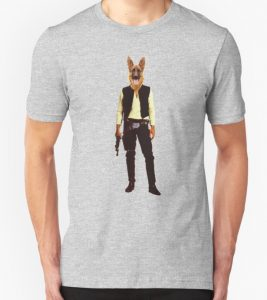 Han Solo German Shepherd T Shirt