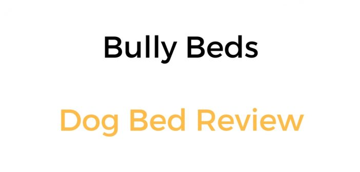 Bully Beds Dog Bed Review: Orthopedic Memory Foam Dog Bed For Large & Giant Dogs