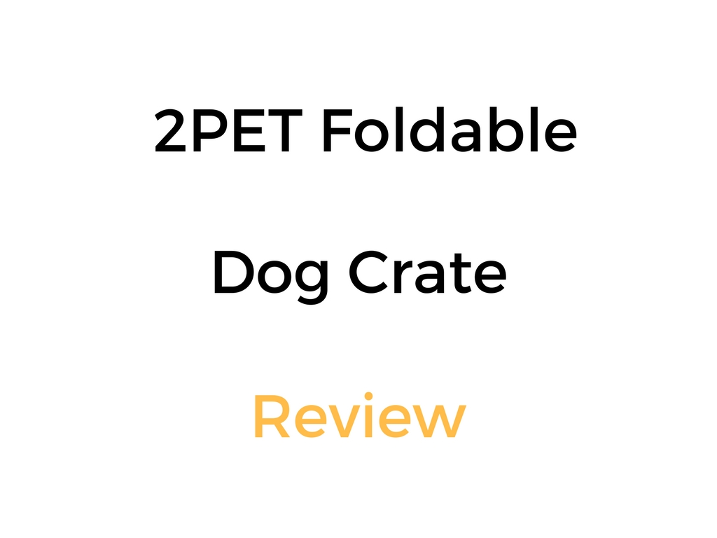 Dog Training Crate Review