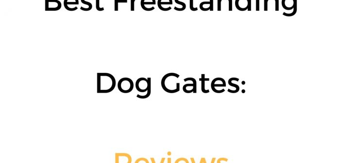 Best Freestanding Dog Gate: Reviews & Buyer's Guide