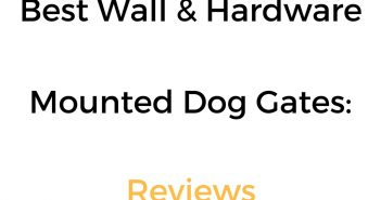 Best Wall/Hardware Mounted Dog Gate: Review & Buyer's Guide