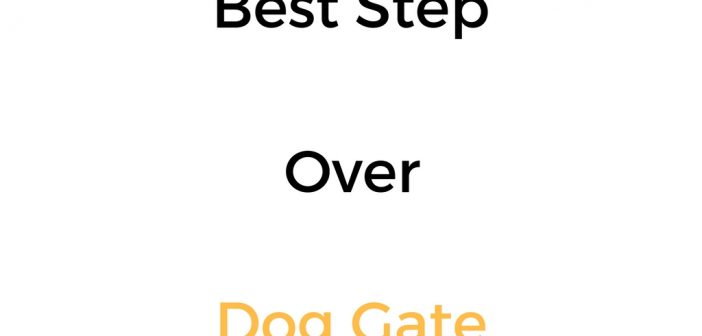 Best Step Over Dog Gate: Reviews & Buyer's Guide