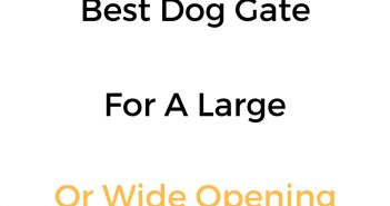 Best Dog Gate For A Large Or Wide Opening