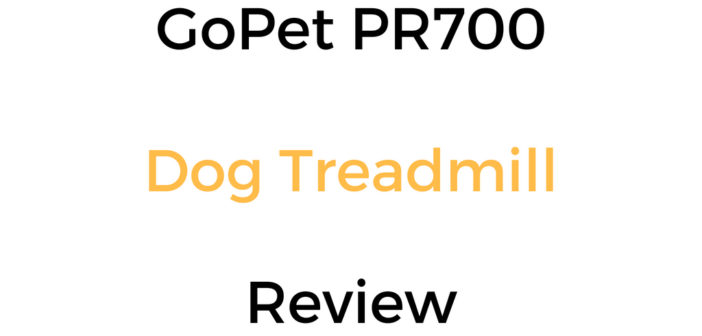 GoPet PR700 Dog Treadmill Review & Buyer's Guide