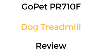 GoPet PR710F Dog Treadmill Review & Buyer's Guide