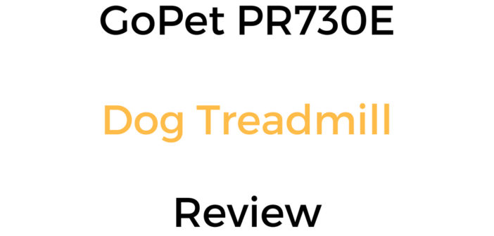 GoPet PR730E Dog Treadmill Review