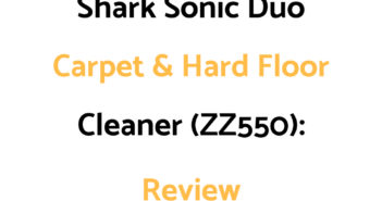 Shark Sonic Duo Carpet And Hard Floor Cleaner (ZZ550): Review