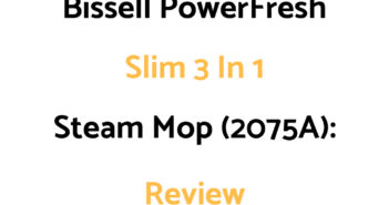 Bissell PowerFresh Slim 3-in-1 Steam Mop (2075A): Review