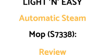LIGHT 'N' EASY Steam Mop (S7338): Review
