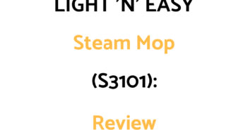 LIGHT 'N' EASY Steam Mop (S3101): Review