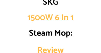 SKG 1500W 6 in 1 Steam Mop: Review