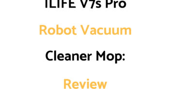 ILIFE V7s Pro Robot Vacuum Cleaner Mop: Review