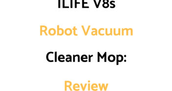 ILIFE V8s Robot Mop Vacuum Cleaner: Review
