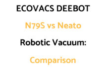 ECOVACS DEEBOT N79S vs Neato Robotic Vacuums: Comparison, & Which To Get