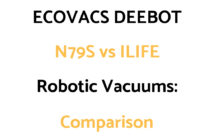ECOVACS DEEBOT vs ILIFE Robotic Vacuums: Comparison, & Which To Get