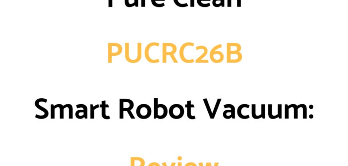 Pure Clean PUCRC96B Smart Robot Vacuum: Review