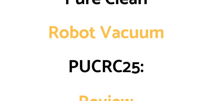 Pure Clean Robot Vacuum PUCRC25: Review