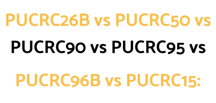 A Pure Clean Robotic Vacuum Comparison Guide of their PUCRC25 vs PUCRC26B vs PUCRC50 vs PUCRC90 vs PUCRC95 vs PUCRC96B vs PUCRC15 models