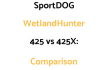 SportDOG WetlandHunter 425 vs 425X: Comparison