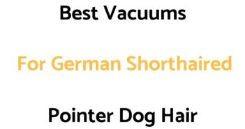 Best Vacuums For German Shorthaired Pointer Dog Hair
