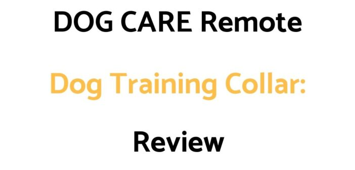 DOG CARE Remote Dog Training Collar: Review & Buyer's Guide