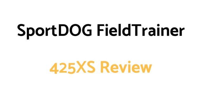 SportDOG FieldTrainer 425XS Review: Remote Trainer