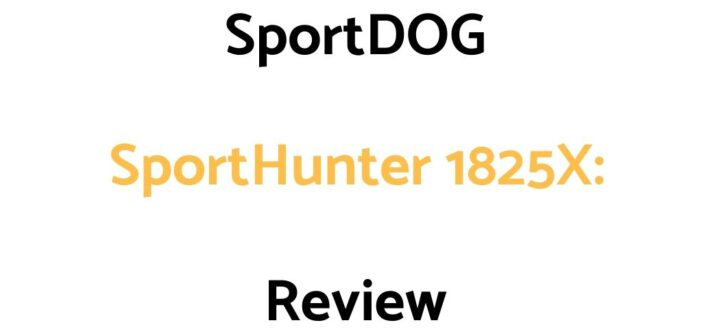 SportDOG SportHunter 1825X: Review