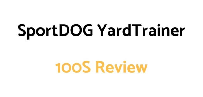 SportDOG YardTrainer 100S Review