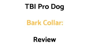 TBI Pro Dog Bark Collar: Review