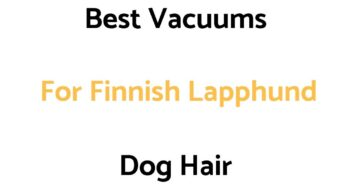 Best Vacuums For Finnish Lapphund Dog Hair