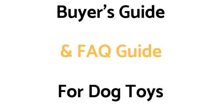 Buyer's Guide & FAQ Guide For Dog Toys