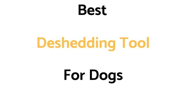 Best Deshedding Tool For Dogs: Reviews, & Buyer's Guide