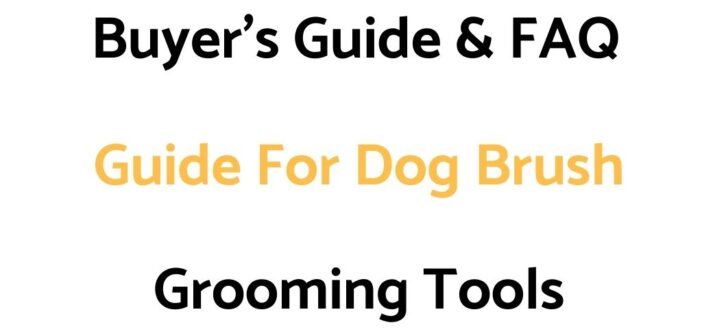 Buyer's Guide & FAQ Guide For Dog Brushes, Deshedding Tools, Combs, Undercoat Rakes & Shedding Blades