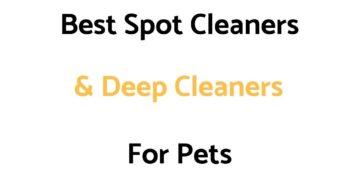 Best Spot Cleaners & Deep Carpet Cleaners For Pets: Reviews, & Top Rated