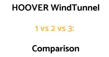 HOOVER WindTunnel 1 vs 2 vs 3 Vacuum Comparison